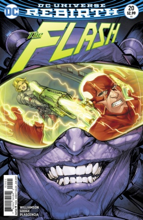 The Flash #20 cover