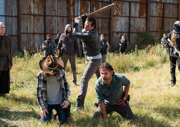 The Walking Dead The First Day of the Rest of Your Life - Carl, Negan and Rick