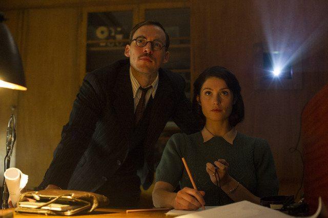 Their Finest movie - Sam Claflin and Gemma Arterton