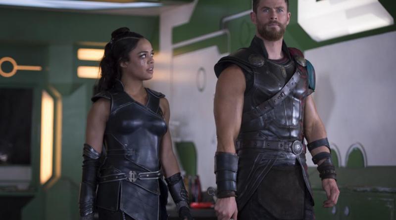 Thor Ragnarok teaser trailer - Tessa Thompson and Chris Hemsworth