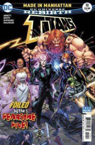 Titans #10 cover