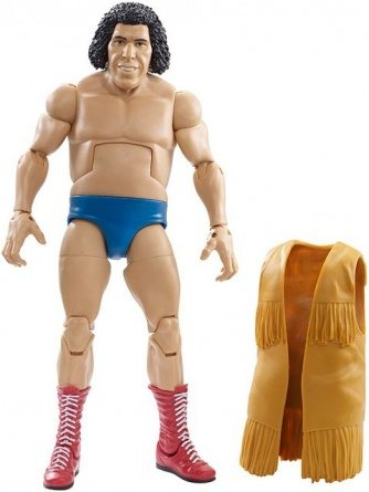 WWE Elite Andre the Giant Flashback Amazon exclusive -with vest off
