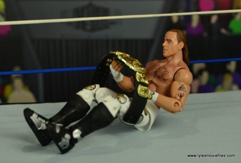 WWE Wrestlemania 12 Elite Shawn Michaels figure review -boyhood dream