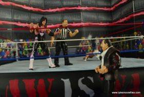 WWE Wrestlemania 12 Elite Shawn Michaels figure review -restarting the match