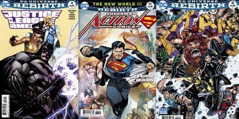 DC Comic reviews 4/12/17