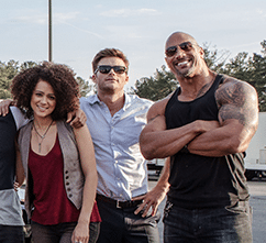 fate of the furious - ramsey, little nobody and hobbs