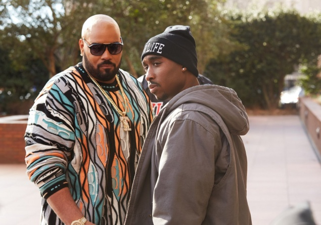 All Eyez on Me 2017 - Demetrius Shipp Jr and Dominic L. Santana