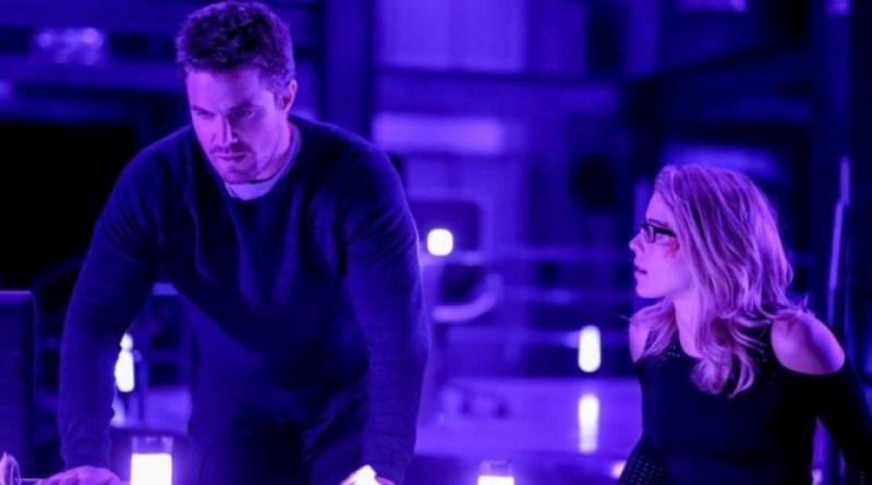 Arrow Underneath review - Oliver and Felicity trapped