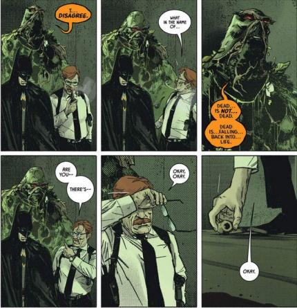 Batman #23 interior art