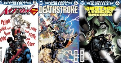 DC Comics reviews for the week of 5/24/17