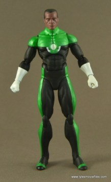 DC Icons John Stewart figure review - front