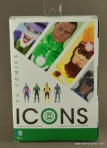 DC Icons John Stewart figure review - package back