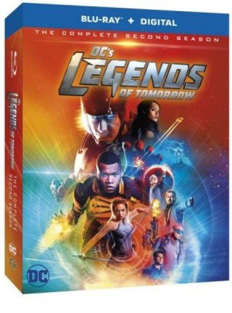 DC's Legends of Tomorrow Season 2 Blu Ray