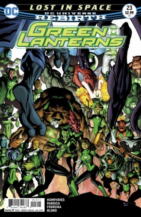 Green Lanterns #23 cover