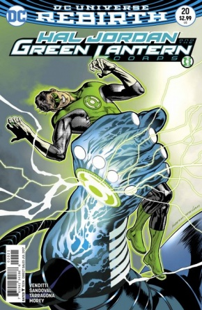 Hal Jordan and the Green Lantern Corps #20 cover