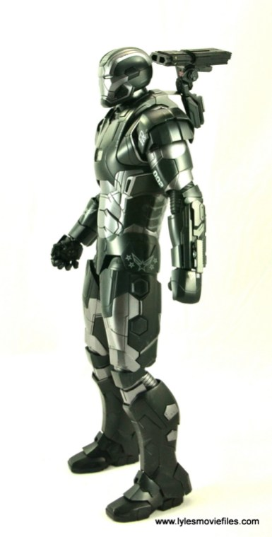 Hot Toys War Machine Age of Ultron figure review -left side