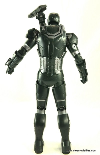 Hot Toys War Machine Age of Ultron figure review -rear