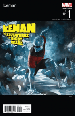 Iceman #1 cover Hip Hop variant