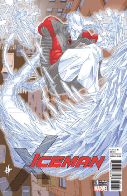 Iceman #1 cover Scott variant
