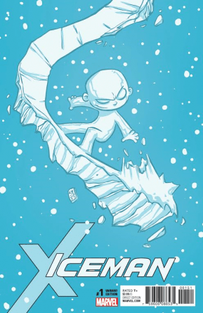 Iceman #1 cover Skottie Young variant