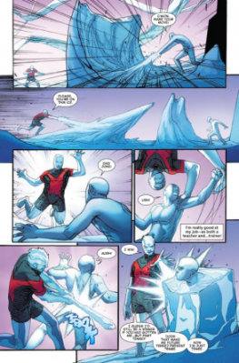Iceman #1 page 3