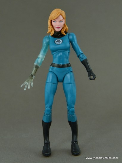 Marvel Legends Invisible Woman figure review -front side