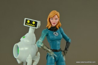 Marvel Legends Invisible Woman figure review -with HERBIE