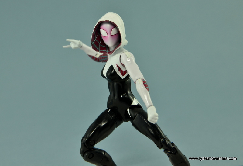 Marvel Legends Spider-Gwen figure review - battle ready