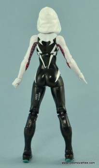 Marvel Legends Spider-Gwen figure review - rear side