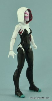 Marvel Legends Spider-Gwen figure review - right side