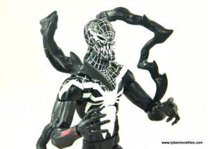 Marvel Legends Superior Venom figure review - side shot