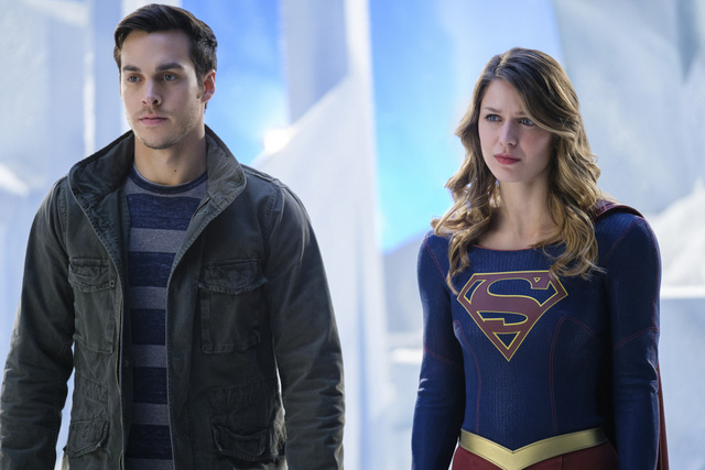 Supergirl Distant Sun - Mon-El and Supergirl