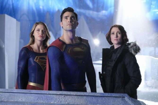 Supergirl Nevertheless She Persisted - Supergirl, Superman tyler hoechlinand Alex