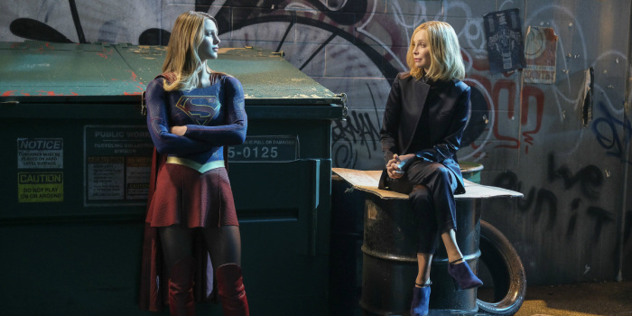 Supergirl Resist - Supergirl and Cat Grant
