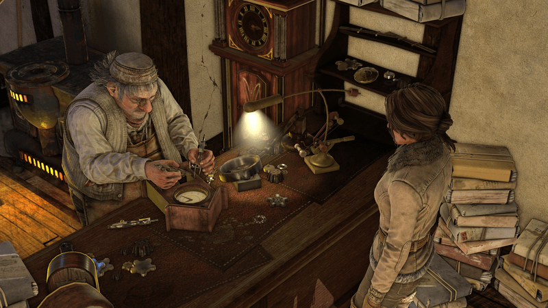Syberia 3 - Simon Steiner and Kate Walker