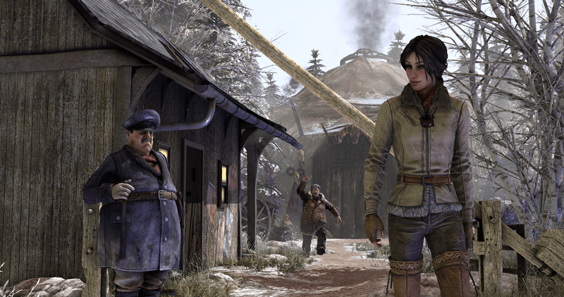 Syberia 3 - TheGuard_YoukoleCamp and Kate Walker