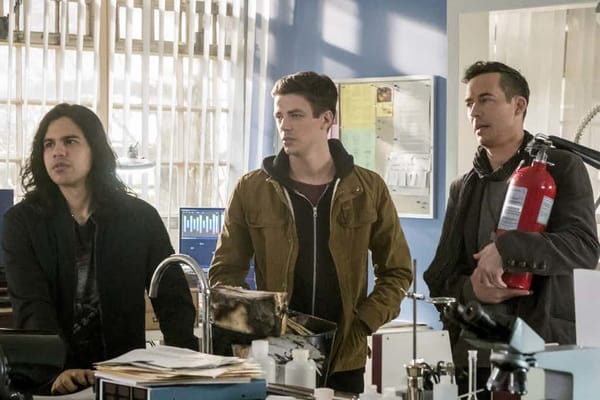 The Flash I Know You Are review - Cisco, Barry and HR