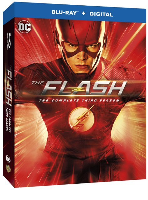 The Flash Season 3 Blu Ray cover