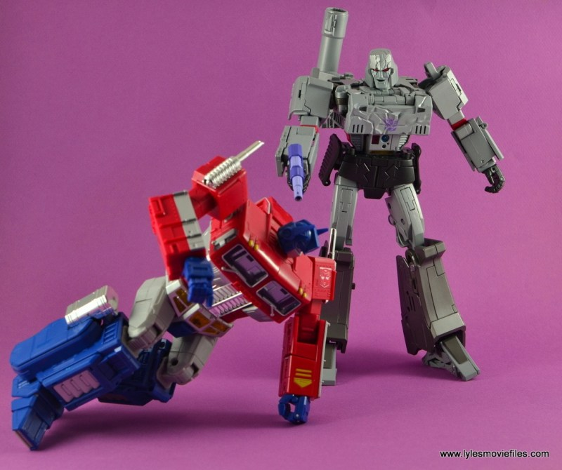 Transformers Masterpiece Megatron figure review - It's Over Prime