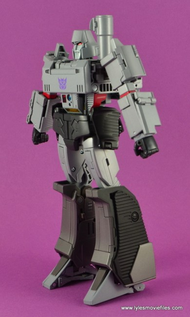 Transformers Masterpiece Megatron figure review -left side