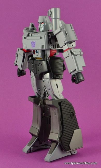 Transformers Masterpiece Megatron figure review -left side