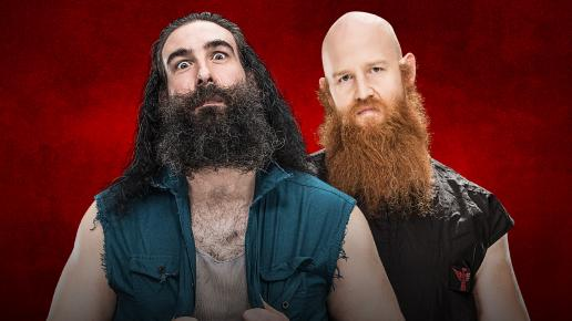 WWE Backlash 2017 - Luke Harper vs Erick Rowan