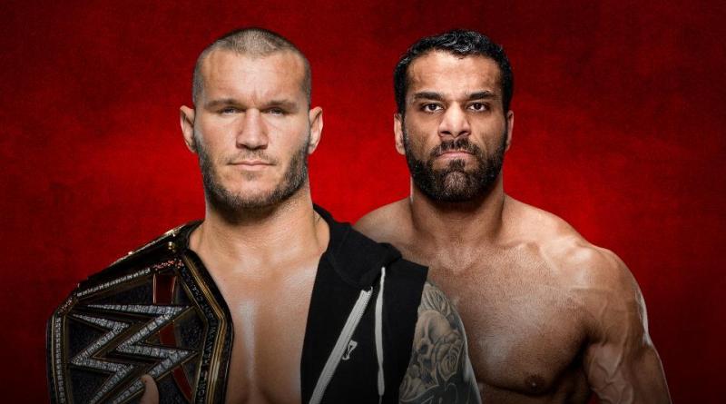 WWE Backlash 2017 - Randy Orton vs Jinder Mahal