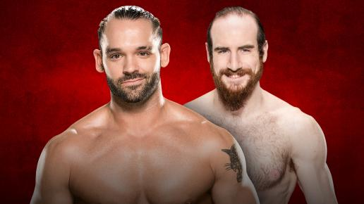 WWE Backlash 2017 - Tye Dillenger vs Aiden English