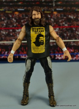 WWE Elite 48 Cactus Jack figure review -front side