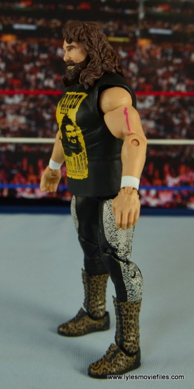 WWE Elite 48 Cactus Jack figure review -left side