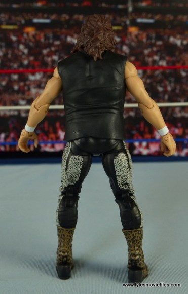 WWE Elite 48 Cactus Jack figure review - rear side