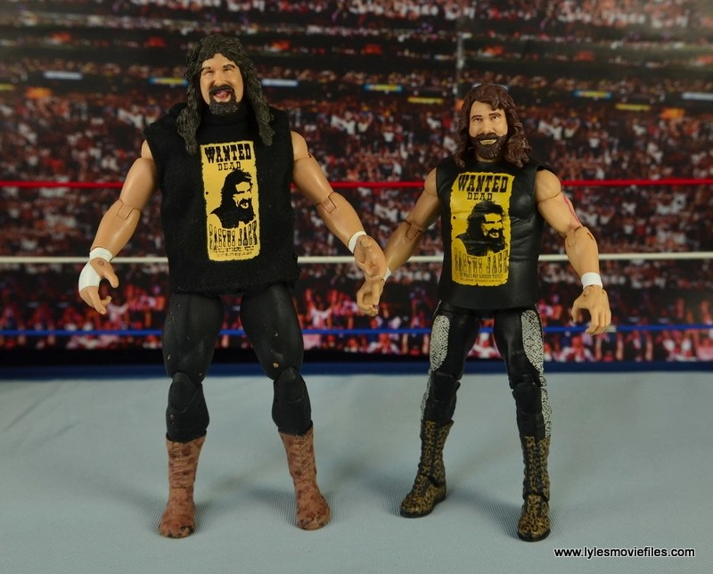 WWE Elite 48 Cactus Jack figure review -with Jakks Cactus Jack