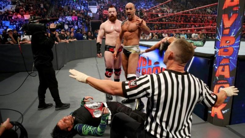 WWE Payback 2017 - Cesaro and Sheamus vs Hardy Boyz