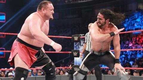 WWE Payback 2017 - Samoa Joe vs Seth Rollins